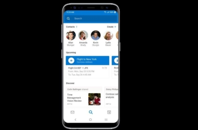 Outlook for Android will soon get the new Discover feature 1