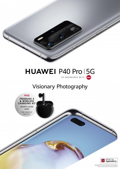 This is when Huawei P40 Pro will go sale 1