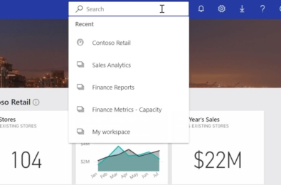 Microsoft rolling out redesigned search experience for Power BI service 4