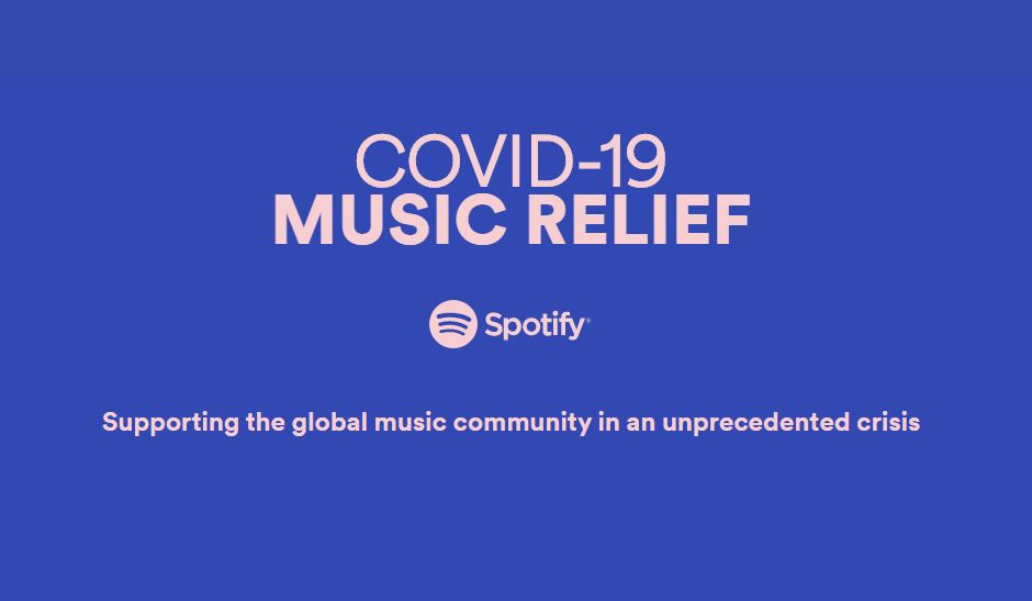 Spotify launches COVID-19 Music Relief project to help musicians 1