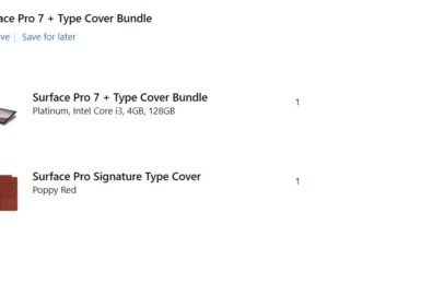 Deal Alert: You can now get a Microsoft Surface Pro 7 with a Signature Type Cover for just $599 1