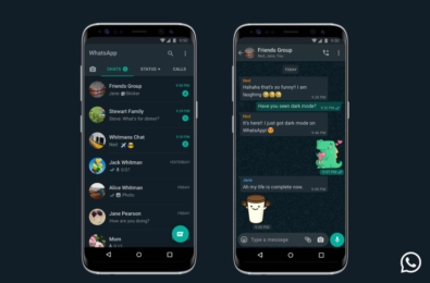 WhatsApp for iOS and Android updated with dark mode support 10