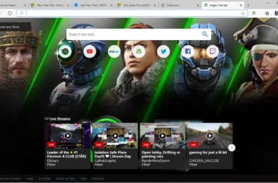 Microsoft releases Xbox New Tab extension for gamers 3