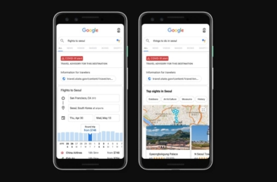 You can now get travel advisories and airline trip cancellation policies on Google 11
