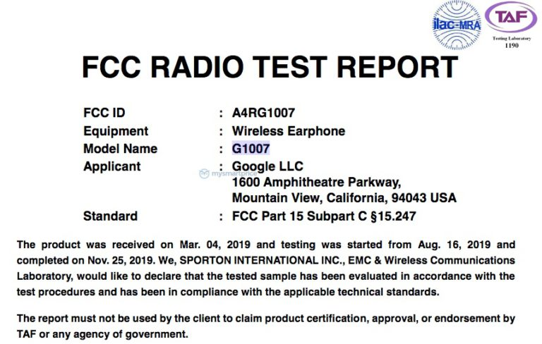 Google Pixel Buds 2 are now FCC certified 2