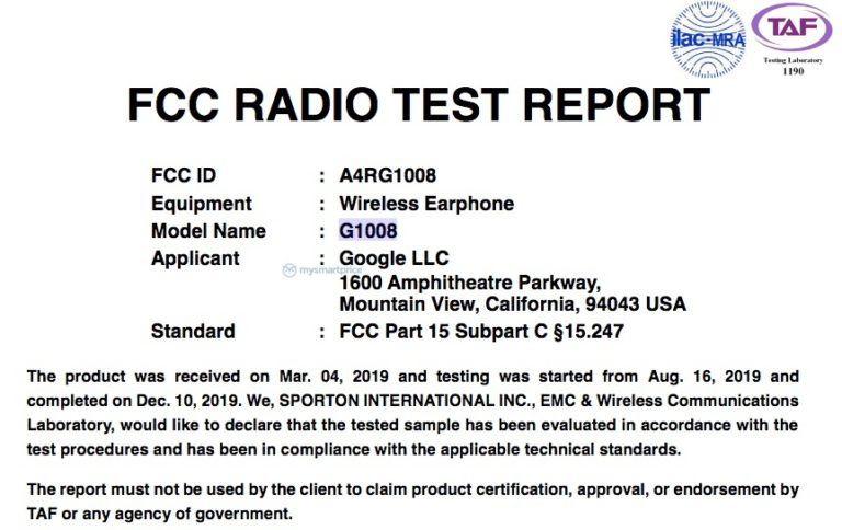 Google Pixel Buds 2 are now FCC certified 1