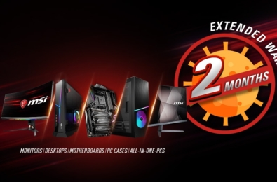 MSI announces global 2-month warranty extension due to coronavirus 14