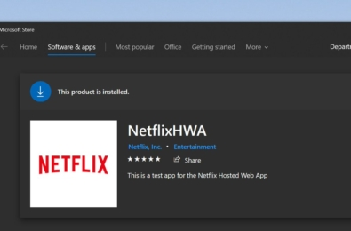 Netflix may be replacing their Windows 10 app with a PWA 1