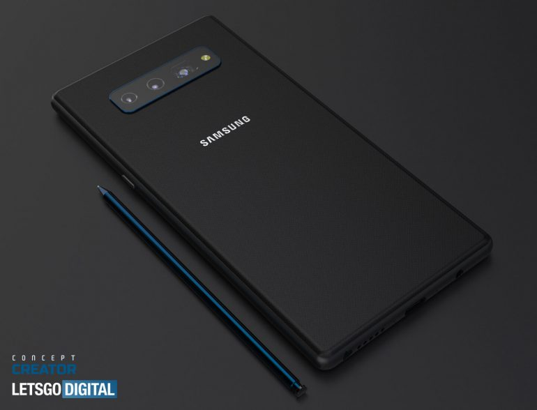 New renders show what Samsung Galaxy Note 20 might look like 6