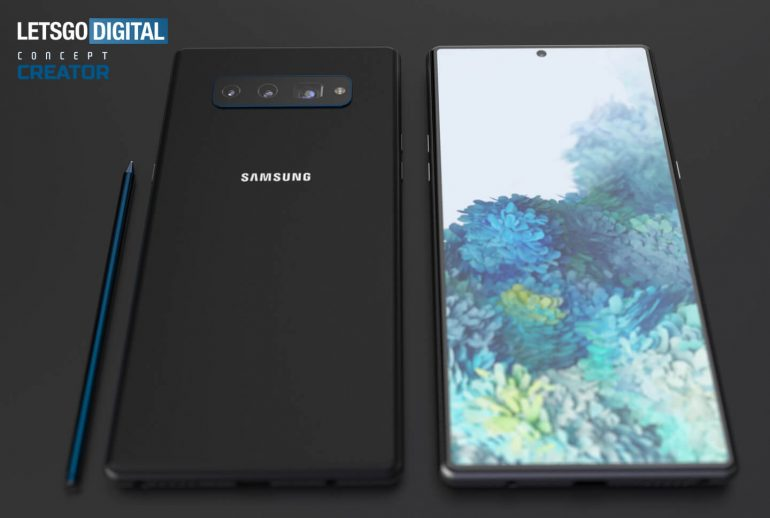 New renders show what Samsung Galaxy Note 20 might look like 2