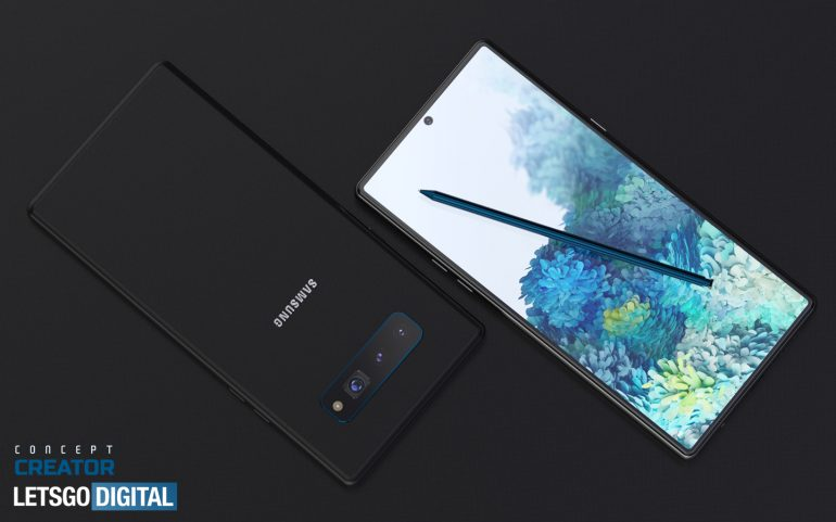 New renders show what Samsung Galaxy Note 20 might look like 3