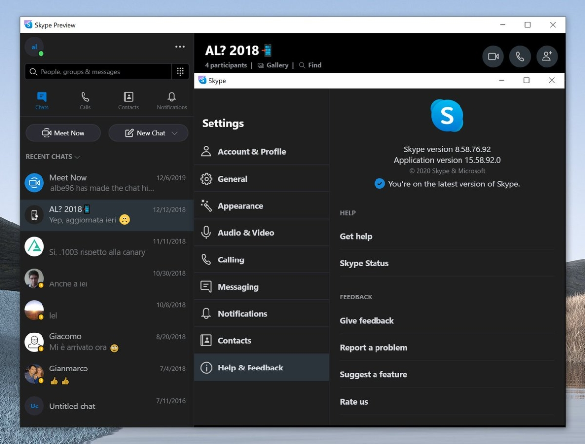 Microsoft replace Skype UWP app with Desktop Electron version 1