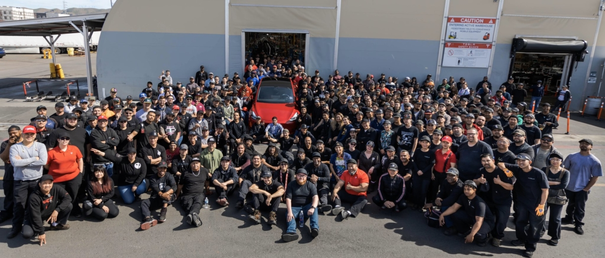 Elon Musk announce Tesla first company to make 1 million EVs, and it's a Model Y