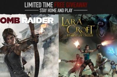 Tomb Raider (2013) and Lara Croft And The Temple of Osiris are free for a limited time 3