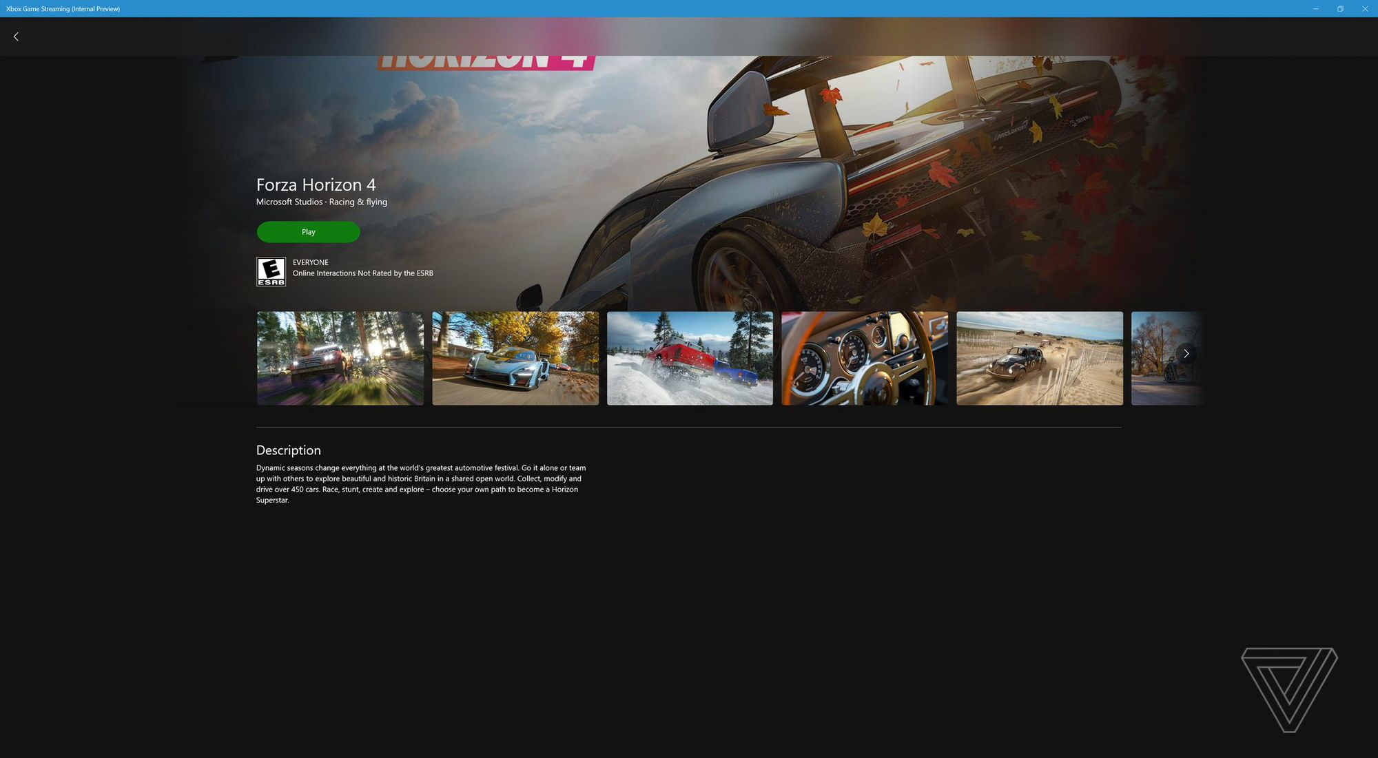 This Is Microsoft's xCloud Game Streaming Service on the PC