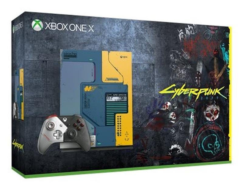 Cyberpunk 2077 Xbox One X console bundle