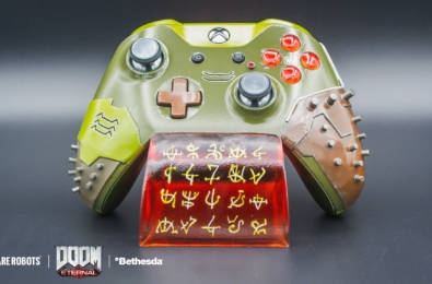 Doom Eternal Xbox One controller