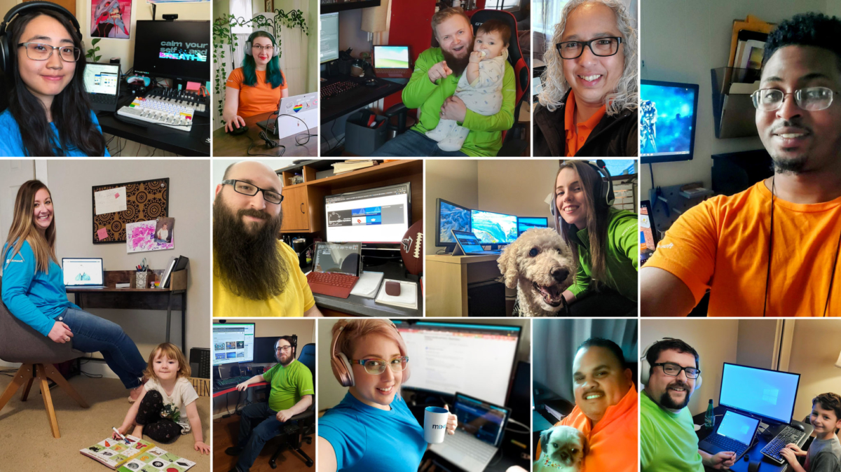 Microsoft store employees are training and helping ...