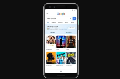 You can now create your own movie watchlist in Google Search 1