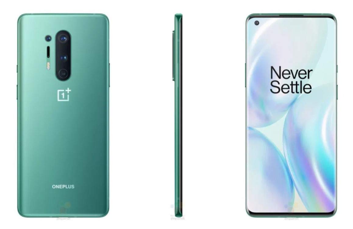 OnePlus 8 Pro with Ultramarine Blue color leaked online 2
