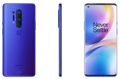 OnePlus 8 Pro with Ultramarine Blue color leaked online 1