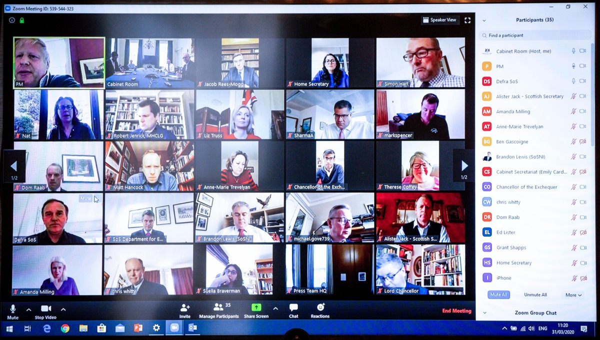 If you are serious about security, you should just stop using Zoom for meetings 1