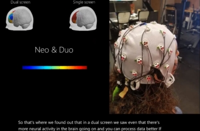 Microsoft says you will use more of your brain with a Surface Neo 1