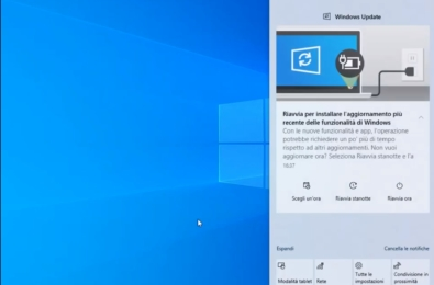 Windows Update notification now much better in Windows 10 2004 18