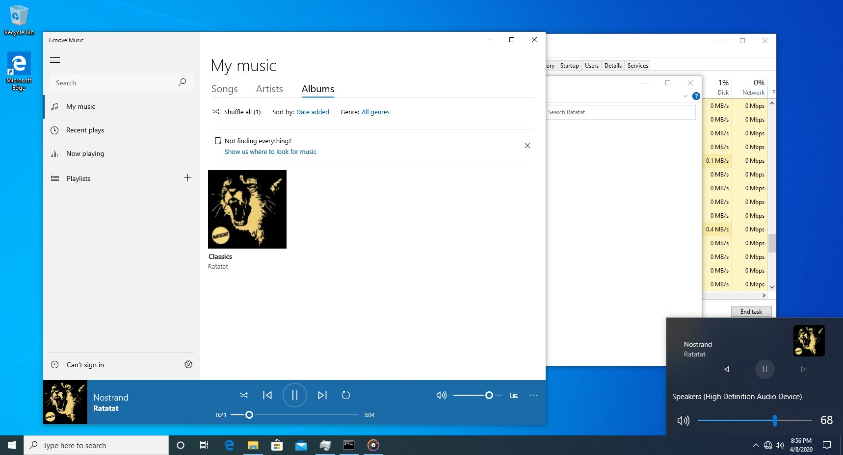 Microsoft is testing adding a cool Media Transport Control to the Windows 10 Volume pop-up 1