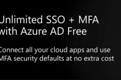 Microsoft makes single sign-on (SSO) free for all Azure AD customers 1
