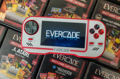 Evercade review banner Oliver Twins Collection cartridge