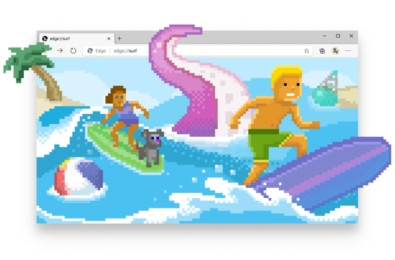 The new surf game in Microsoft Edge now available for everyone 15