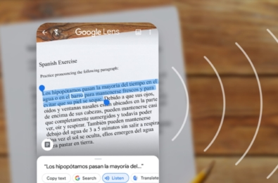 You can now use Google Lens to copy text from paper to your laptop 1