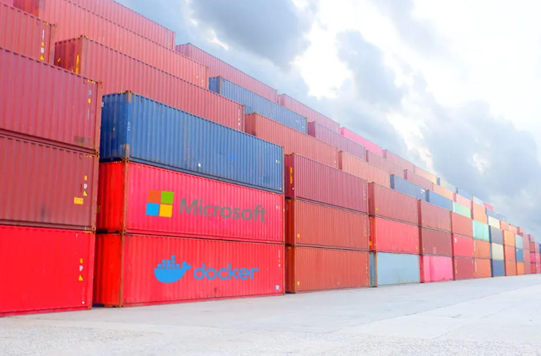 Docker Azure Microsoft