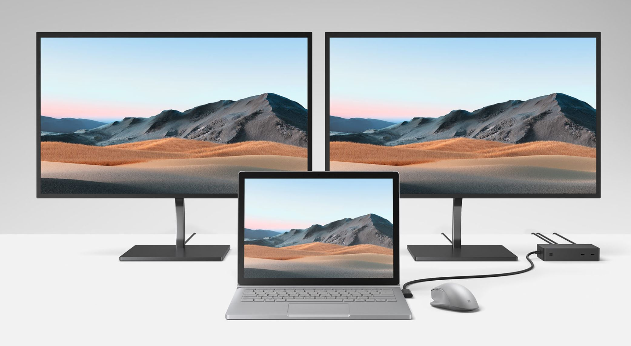Microsoft announces Surface Dock 2 with four USB-C ports, faster ...