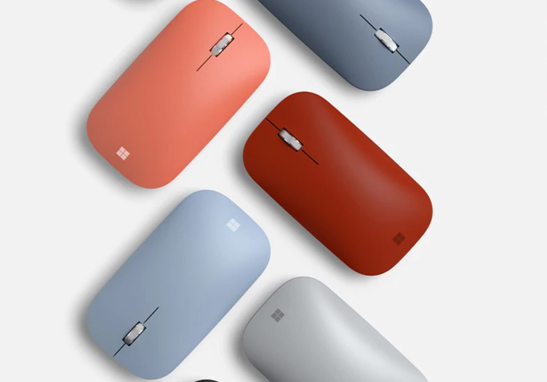 Microsoft Surface Mobile Mouse now available in Ice Blue and Poppy ...