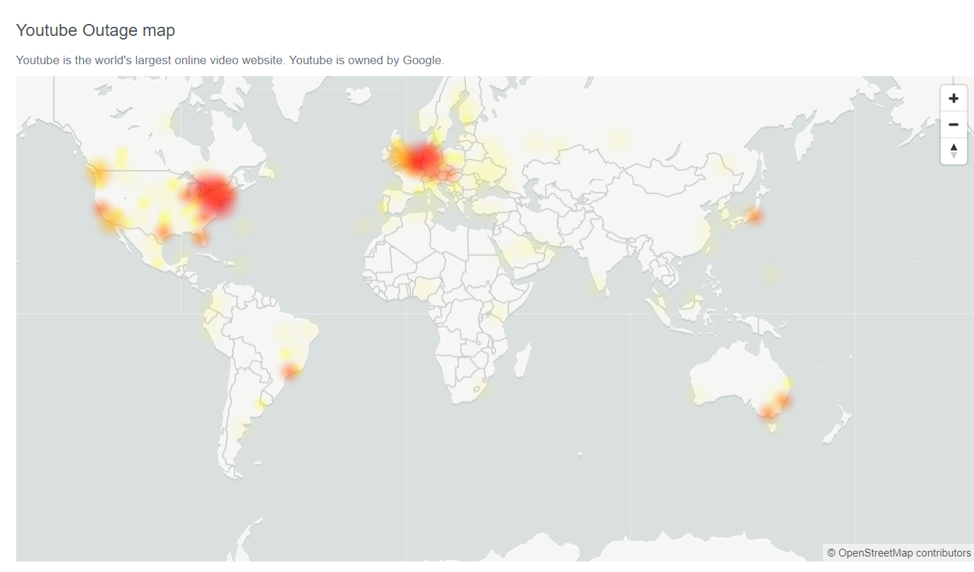 It's not just you, YouTube is down for users around the world 2