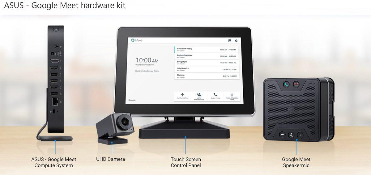 asus google meet hardware