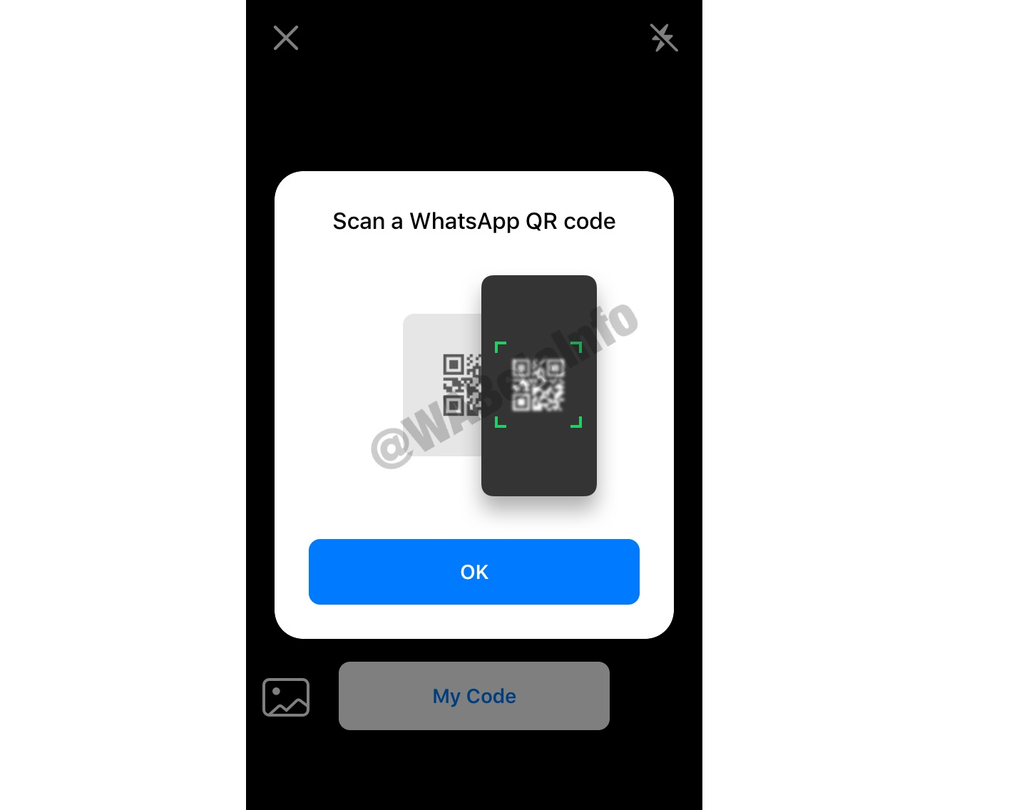 QRCode support comes to WhatsApp beta on iOS - MSPoweruser - MSPoweruser