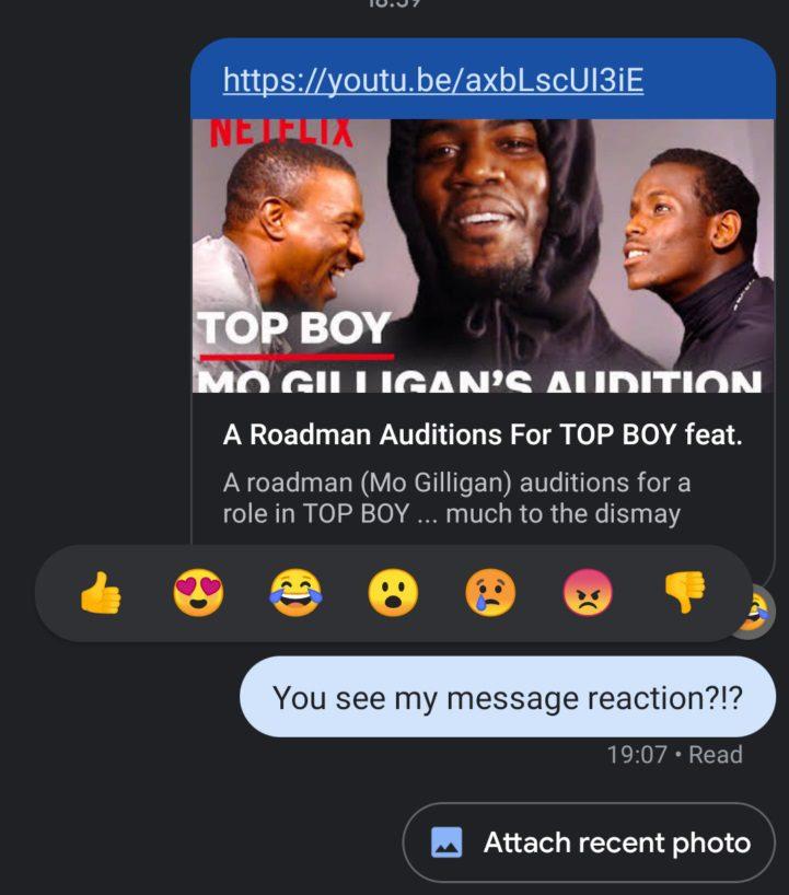 rcs reactions