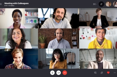 Microsoft rolls out new 3x3 grid view, ability to change message reactions and more to Skype users 9