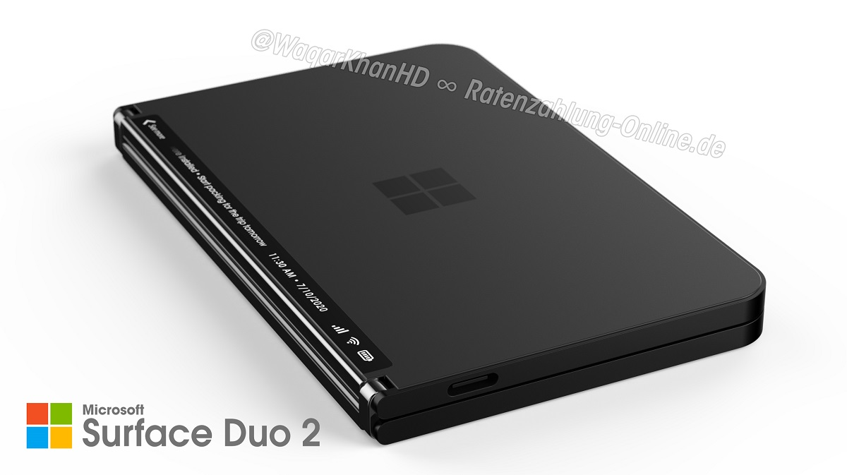 Designer renders an improved Surface Duo 2 - MSPoweruser - MSPoweruser
