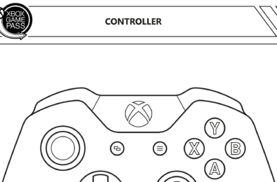 xbox colouring page banner