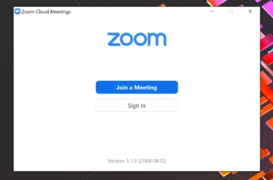 zoom app windows 10