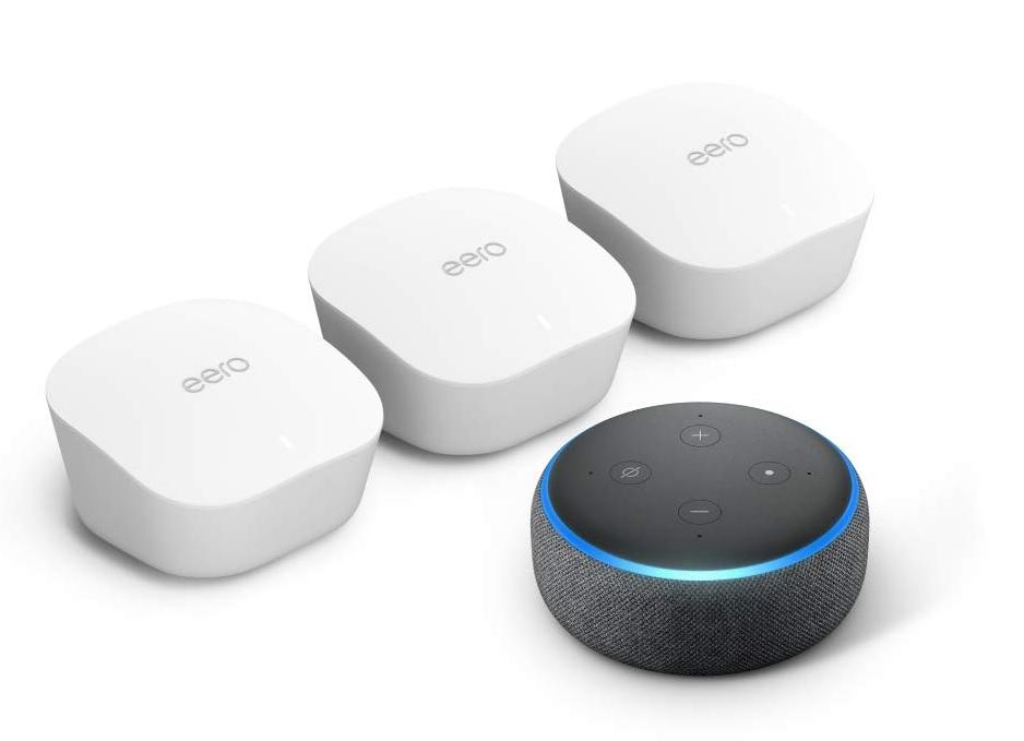 İndirim: Amazon'un eero 3'lü paket ağ WiFi sistemleri 50 $ indirim 2