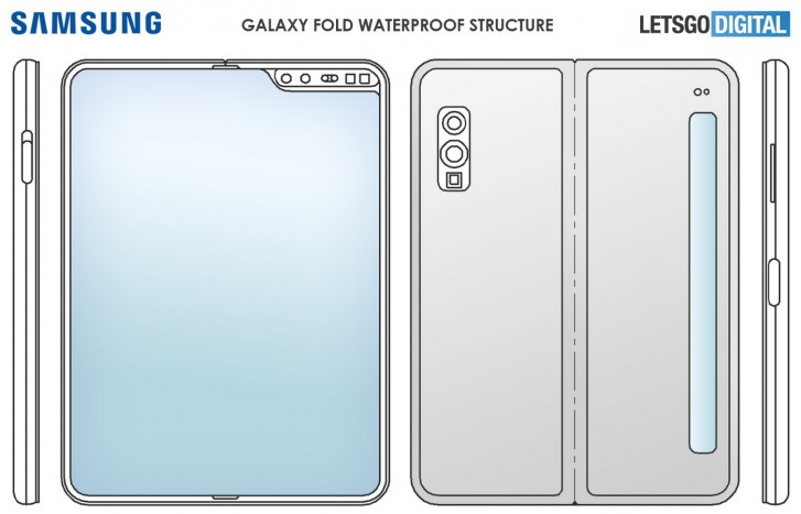 This may be the Samsung Galaxy Fold Lite