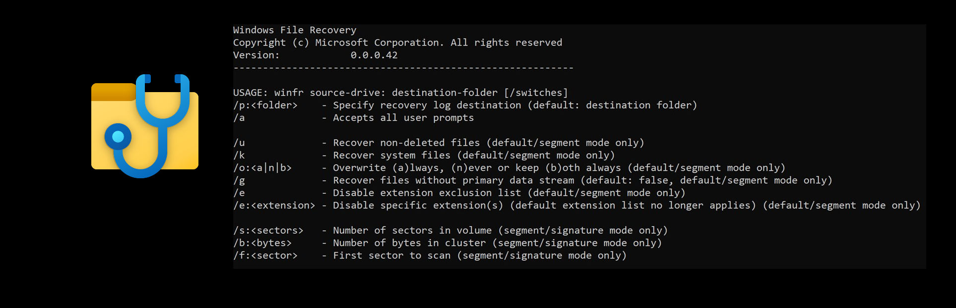Microsoft Release Windows File Recovery Tool To The