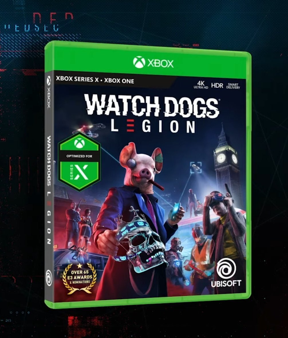 Watch Dogs Legion Optimised for Series X box art
