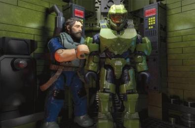 Halo Infinite Mega Bloks spoilers Spartan Locke The Banished Atriox The Flood Zeta Halo