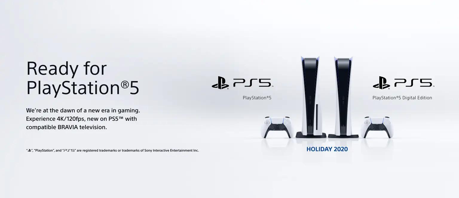 PS5 ready sony Bravia next-gen